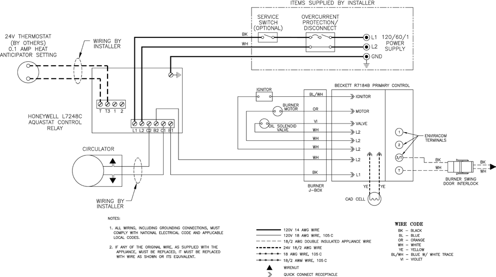 le l7248 manuals 10_1 le l7248 manuals page 10 beckett r7184b wiring diagram at bayanpartner.co