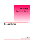 Scalar Series Manuals