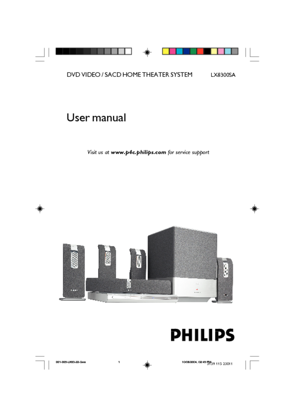 home theater system users guides home theater system page 74 rh usersmanuals1 com Philips Universal Remote User Manual Philips User Guides Speaker Bt7900