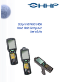 Hand Held Computer Dolphin 7450 Manuals