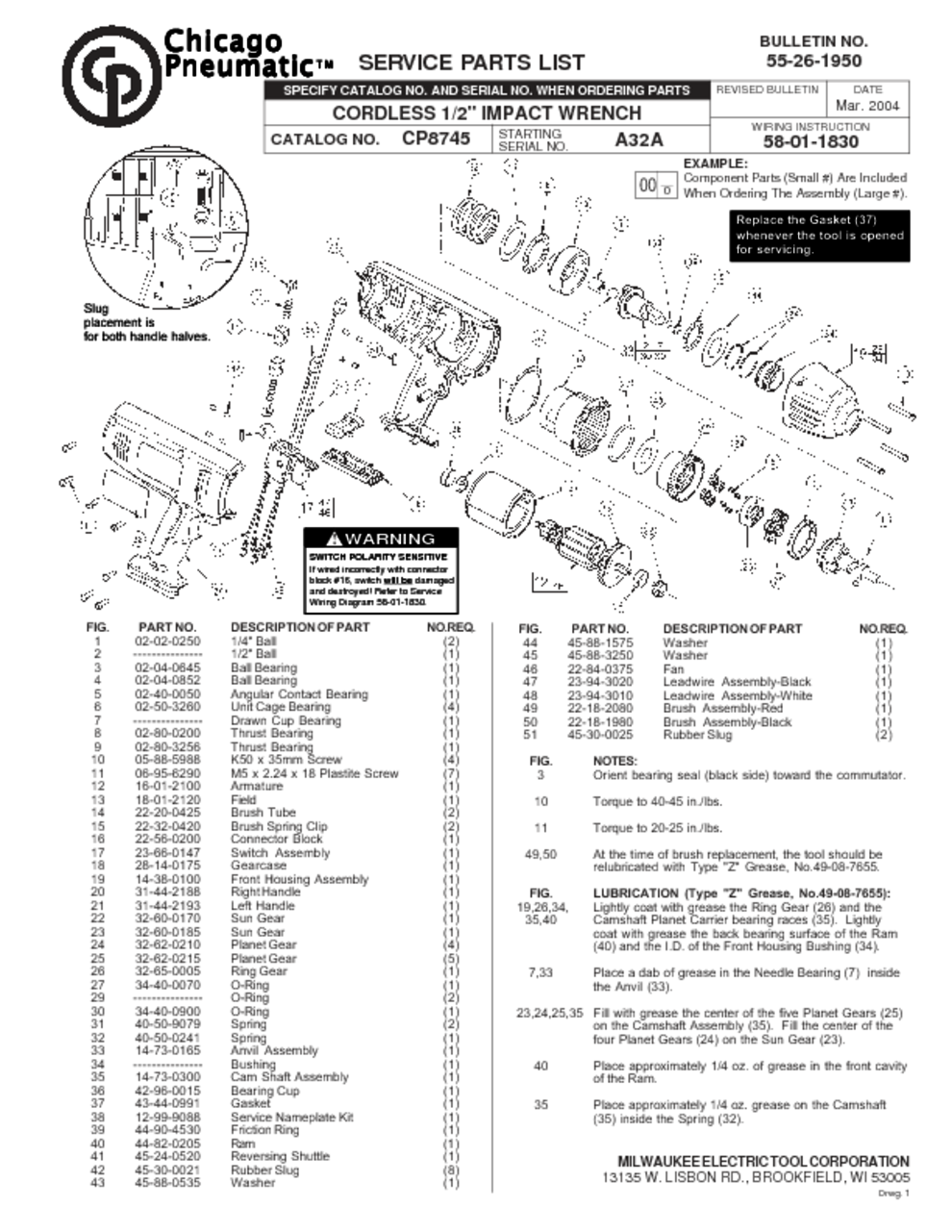 Chicago Pneumatic Wiring Diagram Cheap Ass Tools Electric A Discover Your Impact Driver Users Guides Page 6