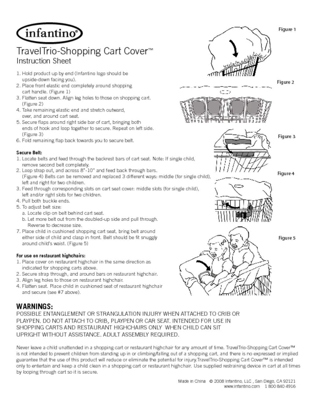 Baby Carrier Users Guides Baby Carrier Page 4