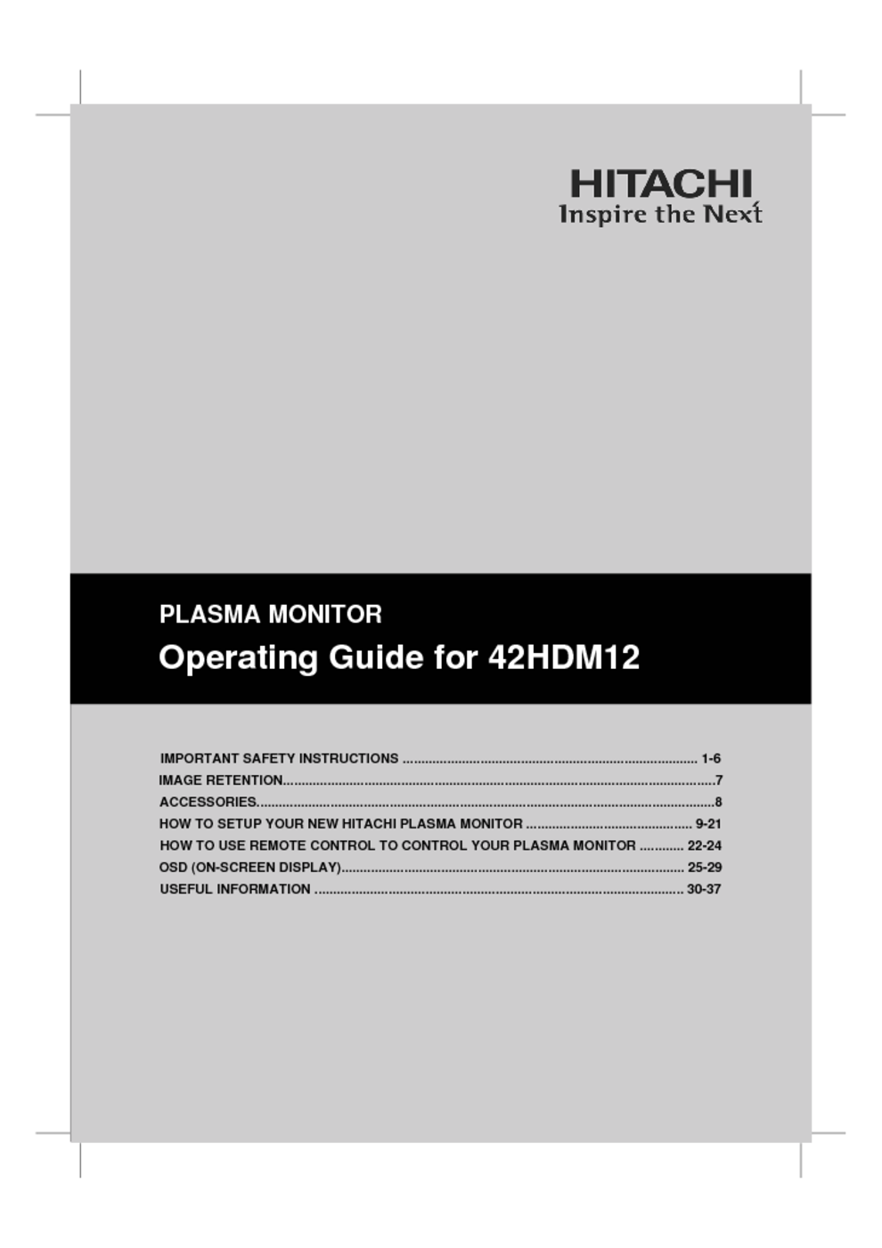 flat panel television users guides flat panel television page 120 rh usersmanuals1 com