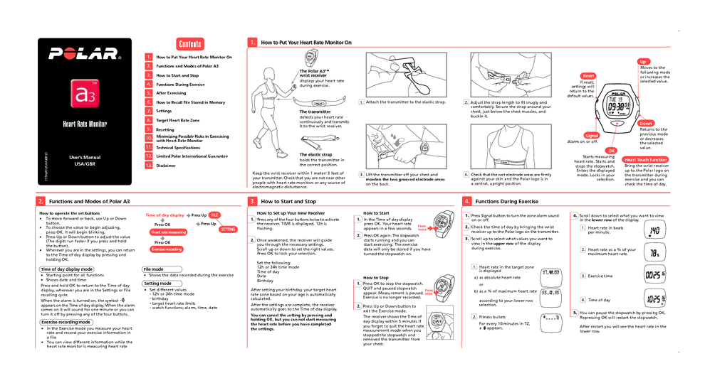 heart rate monitor users guides heart rate monitor page 14 rh usersmanuals1 com polar electro oy f5 manual polar electro oy f5 manual