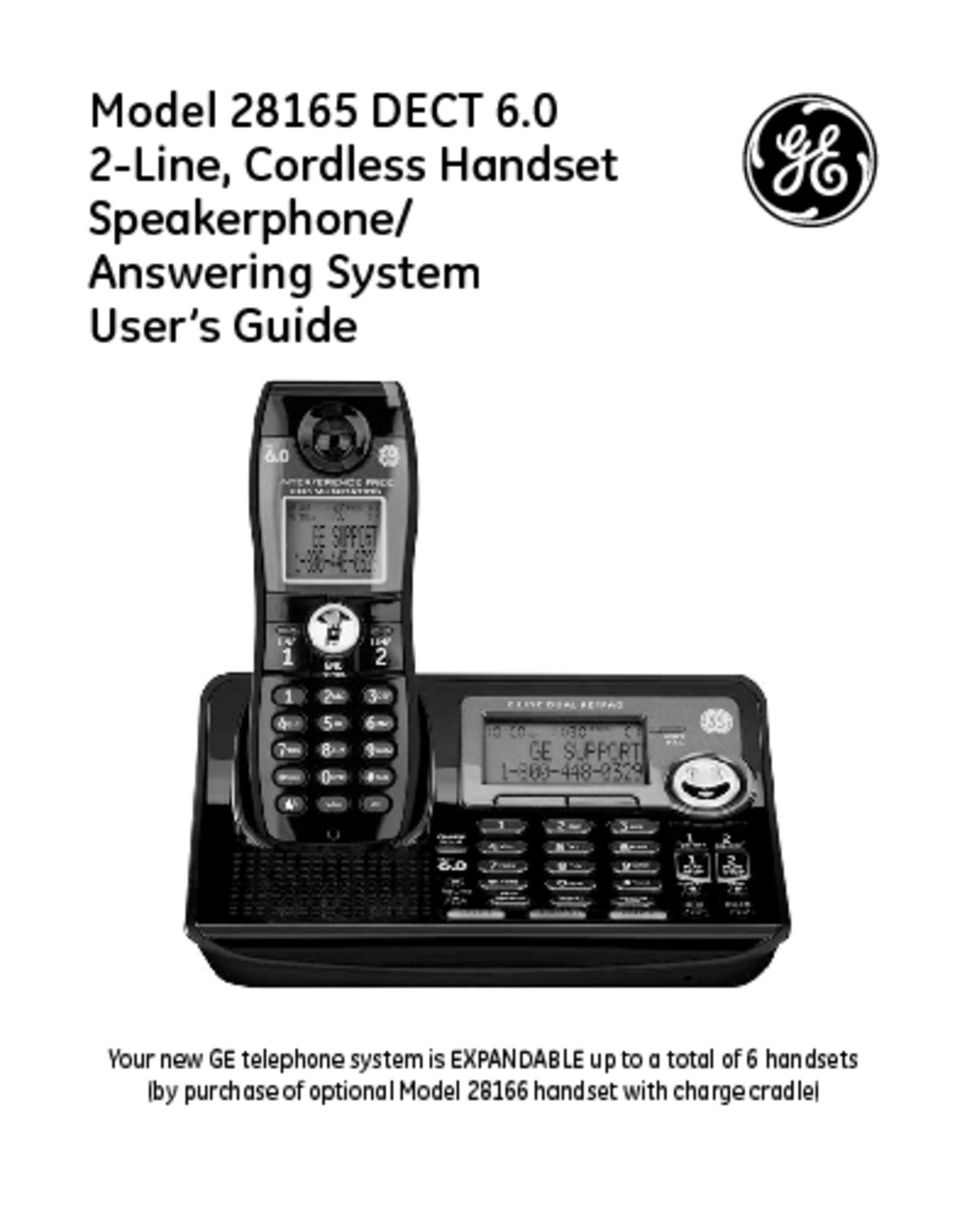 cordless telephone users guides cordless telephone page 290 rh usersmanuals1 com Telephone with Answering Machine Player ge dect 6.0 phone answering machine manual