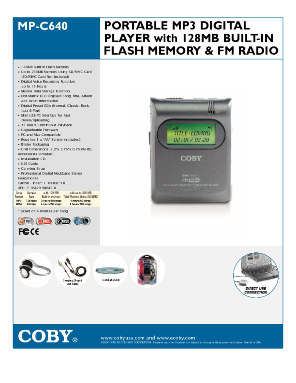 mp3 player users guides mp3 player page 81 rh usersmanuals1 com Old MP3 Players Coby MP3 Player Support