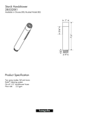 Starck Handshower 28532XX1 Manuals